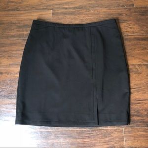 White House Black Market pencil skirt black sz 12